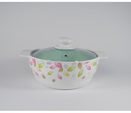 Porcelanowy garnek 1,5 L 12649