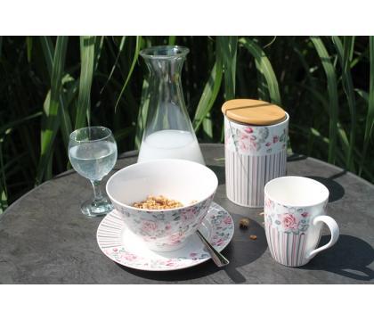 Kpl. 4 podkładek na herbatę RÓŻYCZKA