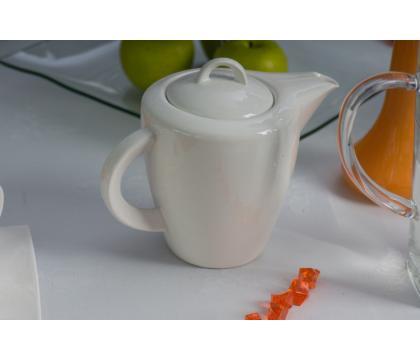 Komplet kawowy 15 cz. WHITE