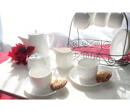 Komplet serwis kawowy 15 cz. KORONKA