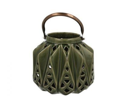Lampion ceramiczny 15,5 cm YSD675