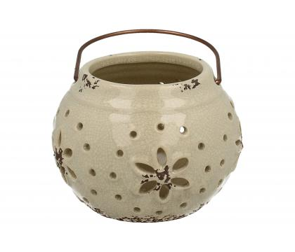 Lampion ceramiczny 10 cm YSD392D