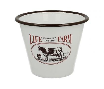 Doniczka osłonka na doniczkę LIFE FARM