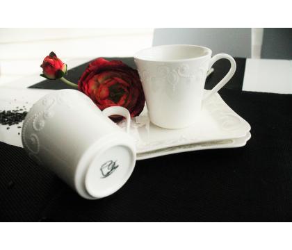 Filiżanki espresso ze spodkami 100 ml 2 szt. komplet ING