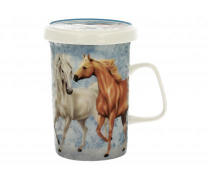 Kubek z zaparzaczem HORSES