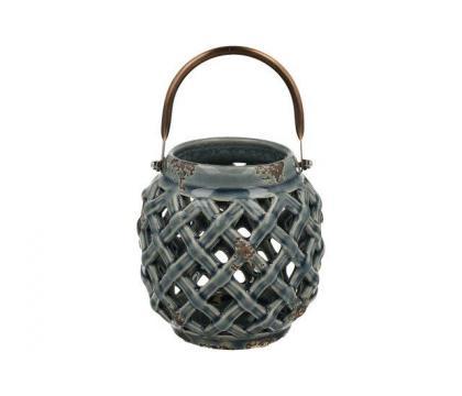 Lampion ceramiczny 12 cm YSD104D