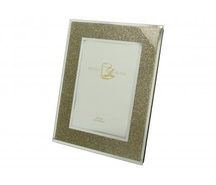 Ramka na zdjęcie 23 cm GOLD GLITTER