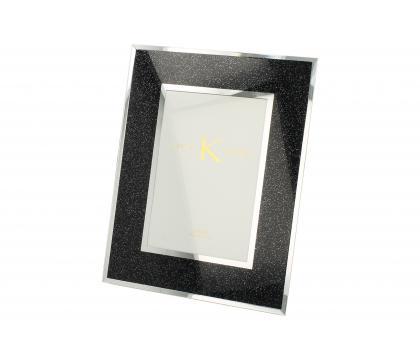 Ramka na zdjęcia 23 cm BLACK