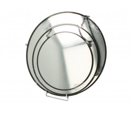 Zestaw 3 okrągłych luster BLACK
