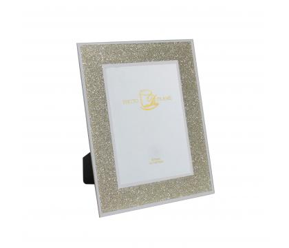 Ramka na zdjęcie 26 cm GOLD GLITTER