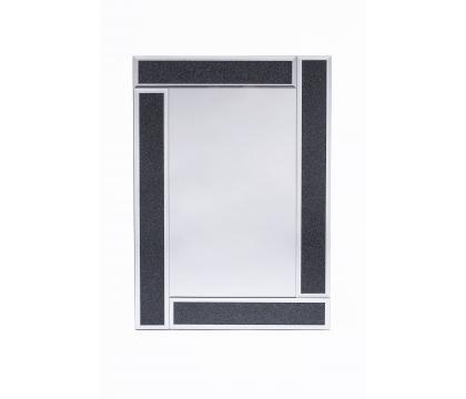 Lustro 40x60 cm prostokąt BLACK