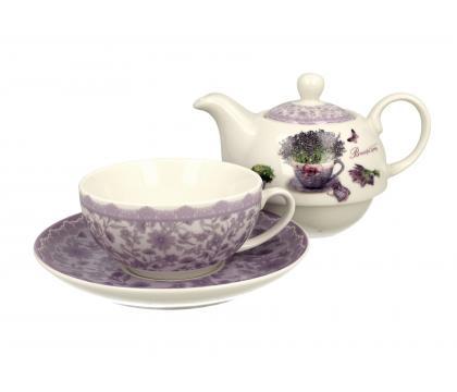 Filiżanka z dzbankiem i spodkiem / Tea for One PASSION