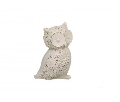 Figurka Sowa ażurowa 13 cm