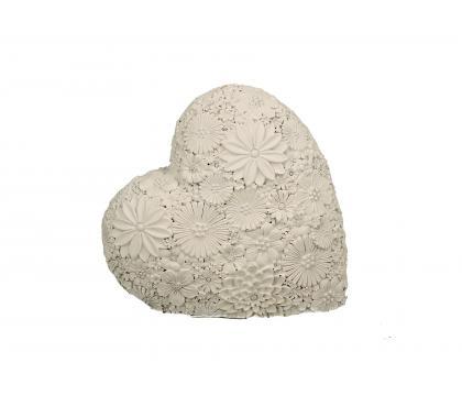 Figurka Serce ażurowe 14 cm
