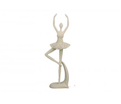 Figurka Baletnica 2 ażurowa 30 cm