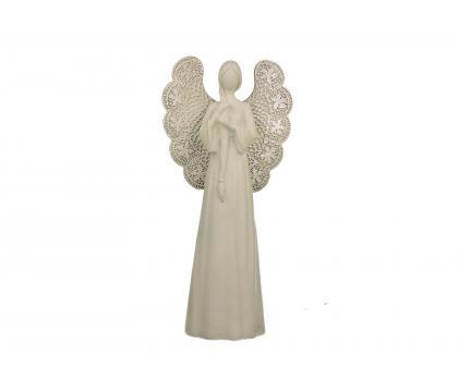 Figurka Anioł 1 ażurowy 26 cm