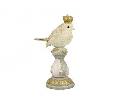 Figurka Ptaszek na kolumnie