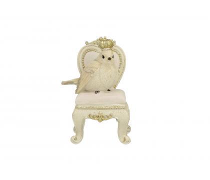 Figurka Ptaszek na fotelu