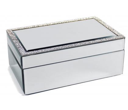 Szkatułka 21 cm CRYSTAL