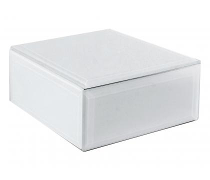 Szkatułka 12 cm WHITE