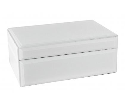 Szkatułka 21 cm WHITE
