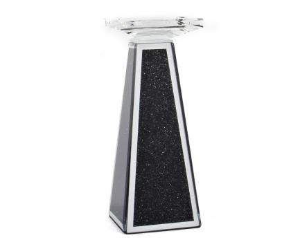 Świecznik kolumna 22,5 cm BLACK