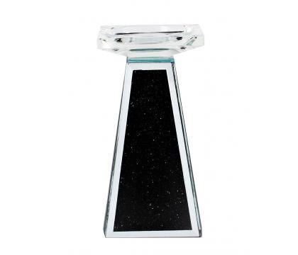 Świecznik kolumna 17,5 cm BLACK
