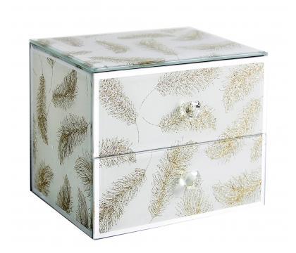 Szkatułka z szufladkami IVY