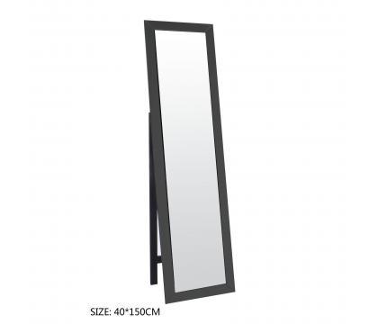 Lustro stojące 40x150 cm BLACK MAT