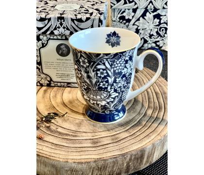 Kubek na stopce 300 ml BLUE William Morris