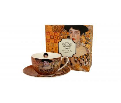 Filiżanka ze spodkiem 280 ml ADELE BLOCH-BAUER I by Gustav Klimt