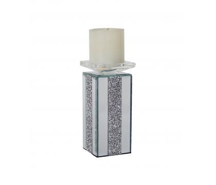 Świecznik prosty kolumna 20,5 cm GLAMOUR