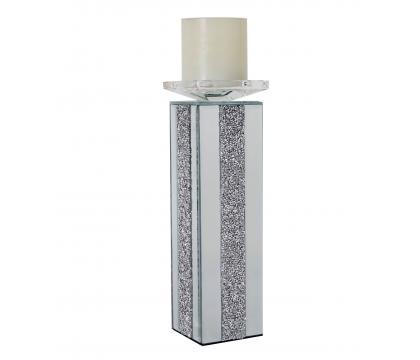 Świecznik prosty kolumna 30 cm GLAMOUR