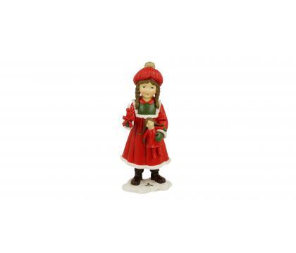 Figurka Dziewczynka ze świecą 19 cm