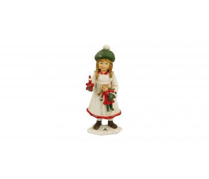 Figurka Dziewczynka ze świecą 13 cm