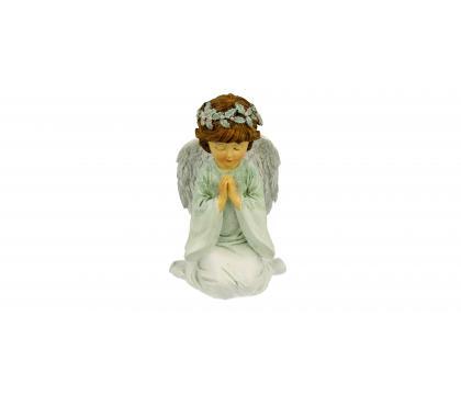 Figurka Aniołek niebieski 12,5 cm