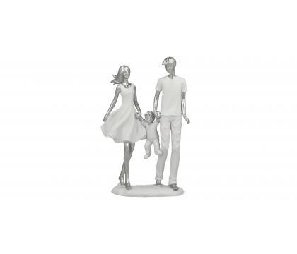 Figurka Para z dzieckiem 25 cm