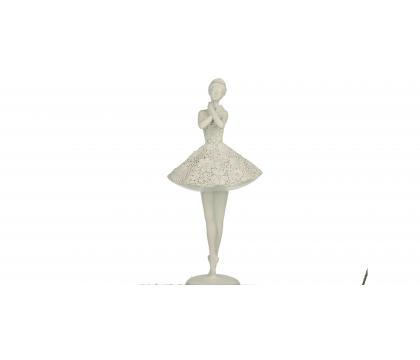 Figurka Baletnica 3 ażurowa 33,5 cm