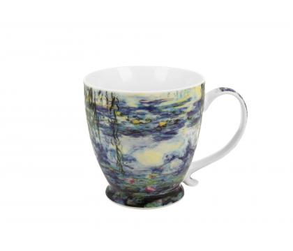 Kubek na stopce jumbo 480 ml THE WATER LILLIES by Claude Monet