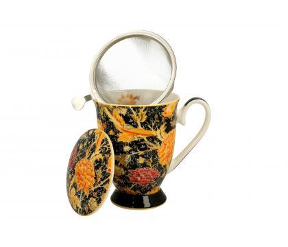 Kubek 325 ml z zaparzaczem CRAY FLORAL William Morris