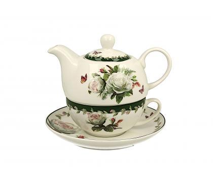 Filiżanka z dzbankiem i spodkiem / Tea for One EDITH