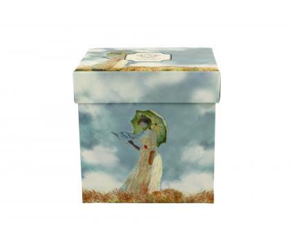Kubek 300 ml z zaparzaczem Woman with a Parasol C. Monet