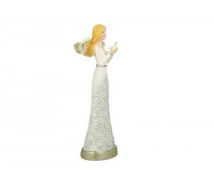 Figurka Aniołek w koronce 1 - 25 cm