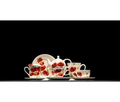 Komplet 4 podkładek na torebki z herbaty MAKI